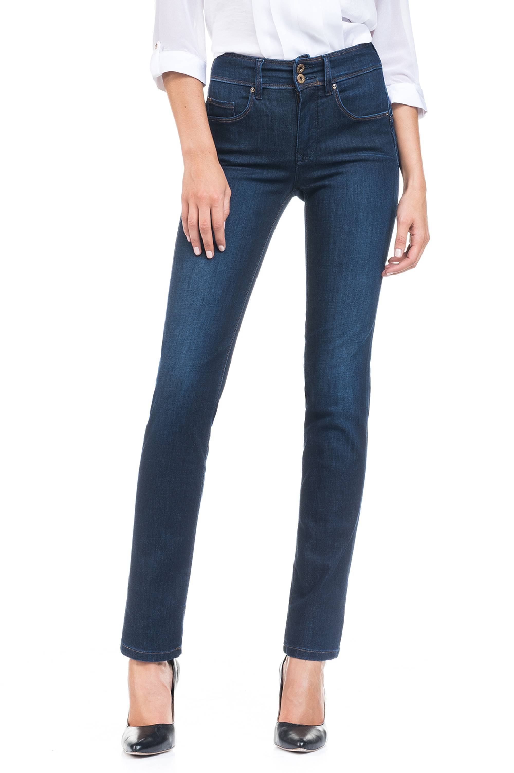 Salsa - Push In - Slim Leg Blue