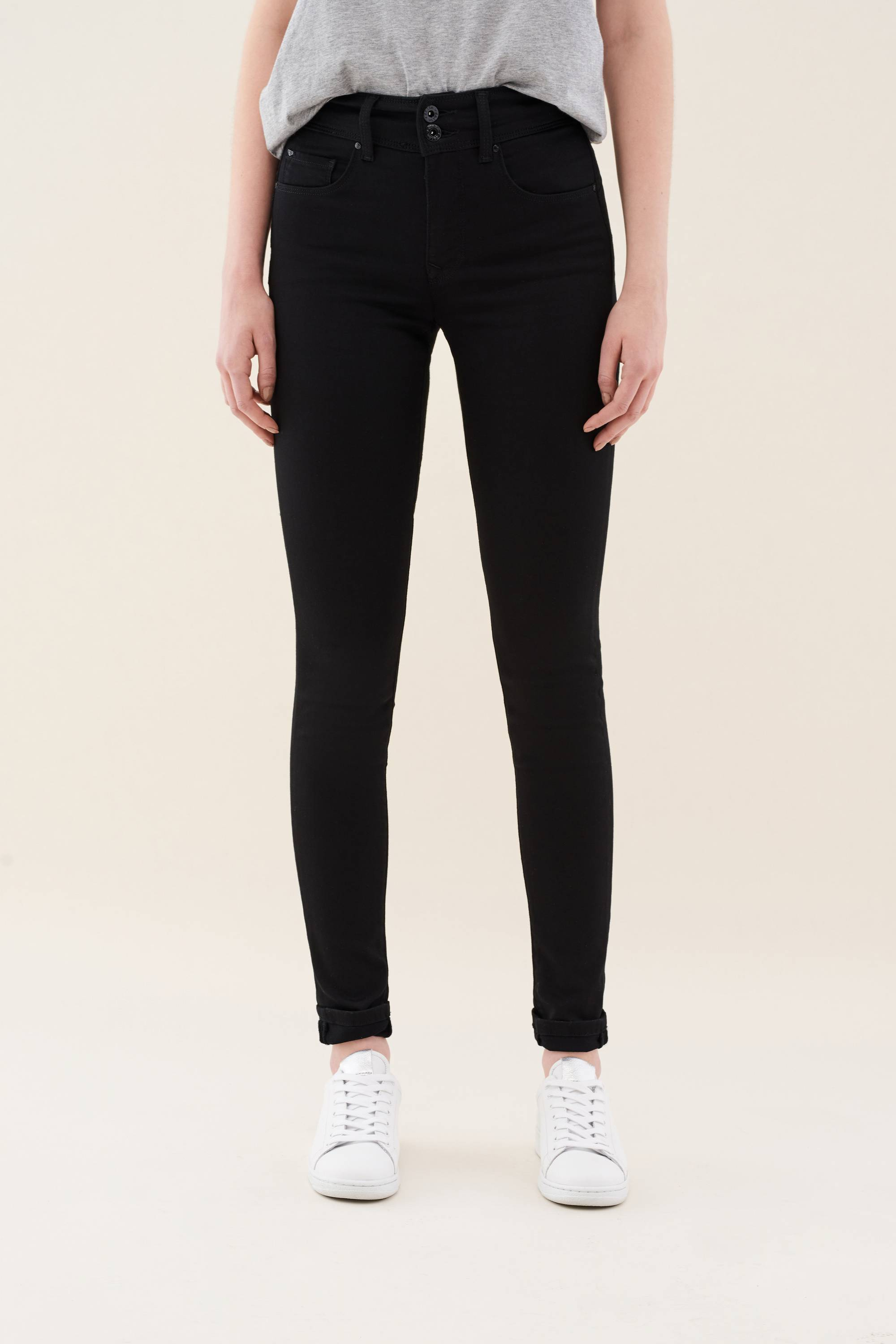 Salsa - Push In High Waist Skinny - Black