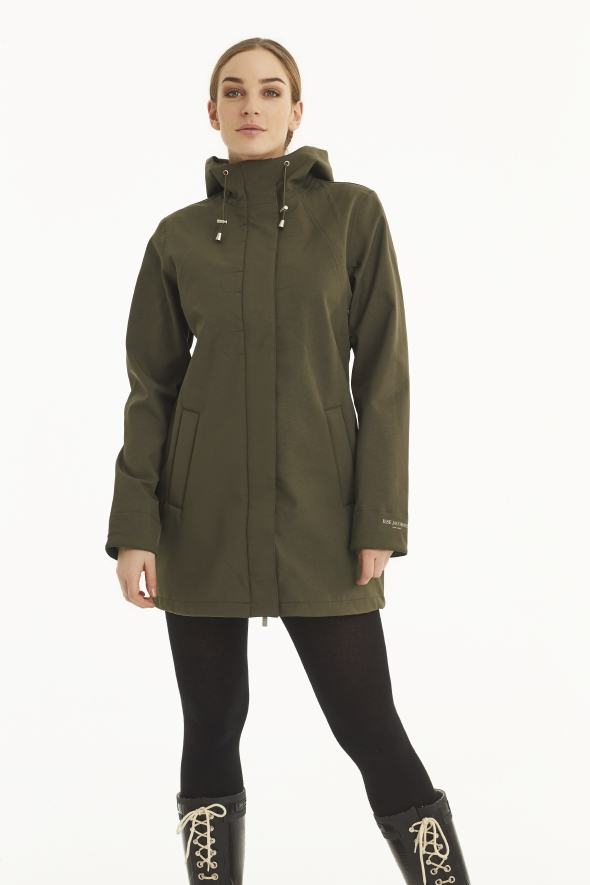 ILSE JACOBSEN - Rain Coat - Army