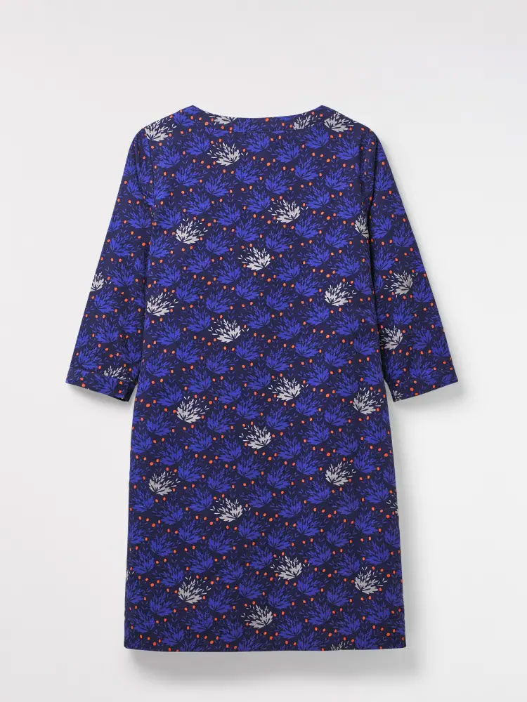 White stuff - Petra Cord Dress - Velvet Blue Print
