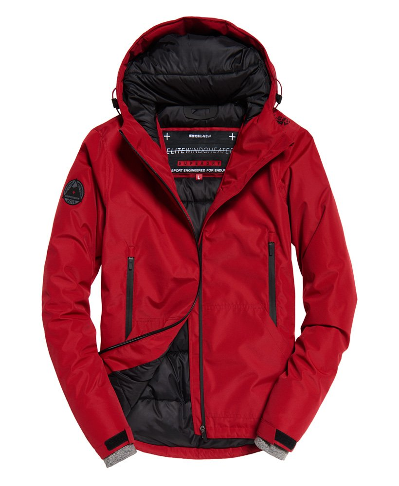 Superdry - Padded Elite Windcheater - Paprika