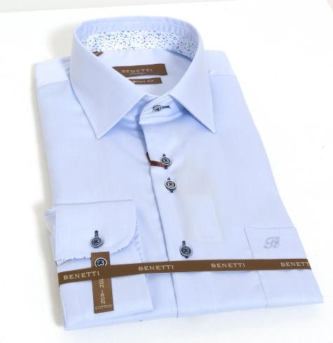 Benetti - Atlanta Tailored/Comfort fit - Blue