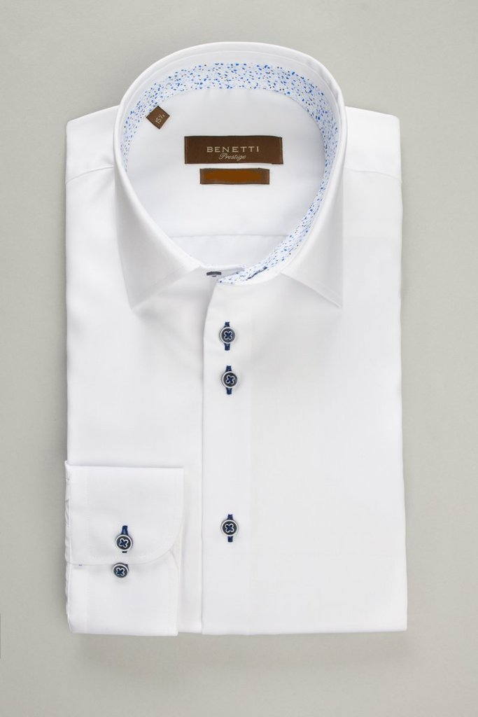 Benetti - Atlanta Tailored/Comfort fit - White