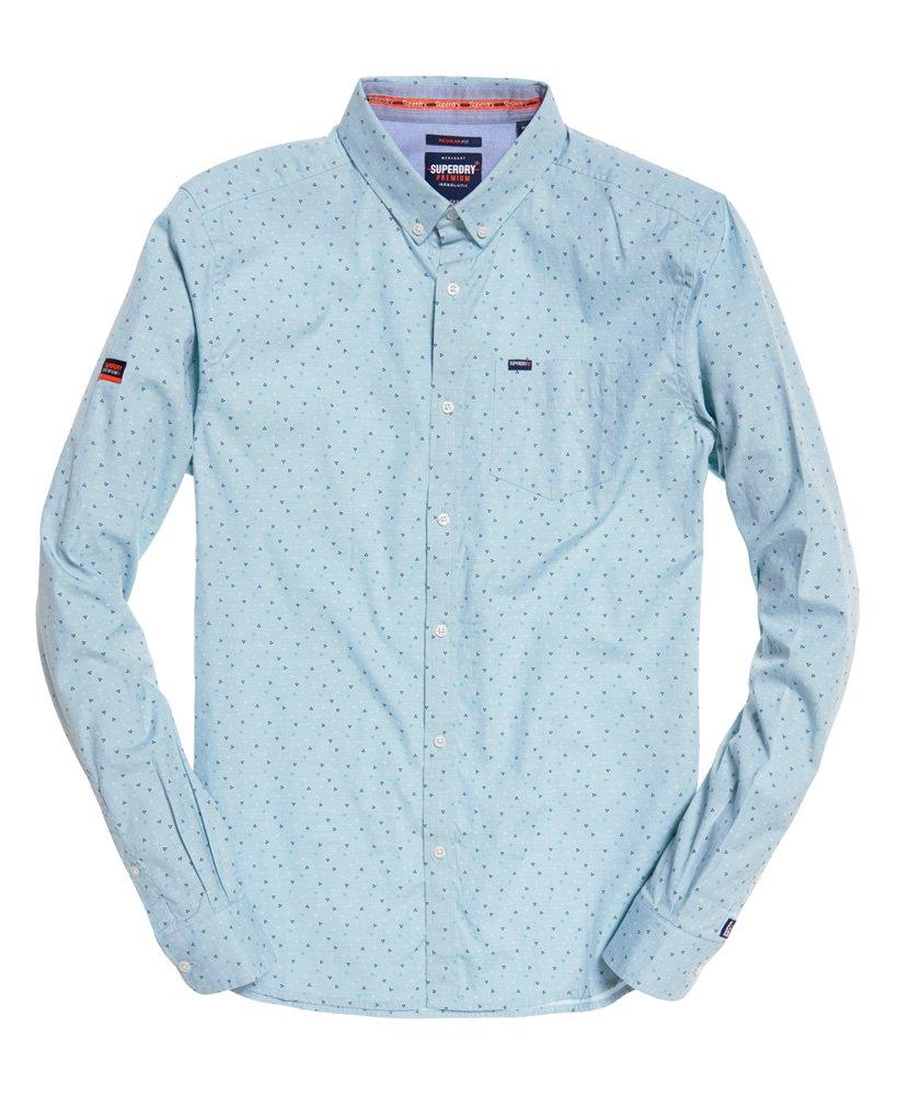 Superdry | Premium Shoreditch Shirt Bermuda Blue Triangle