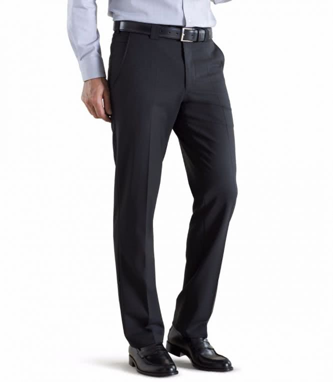 Meyer Fine Tropical Wool Chino - Roma - Black