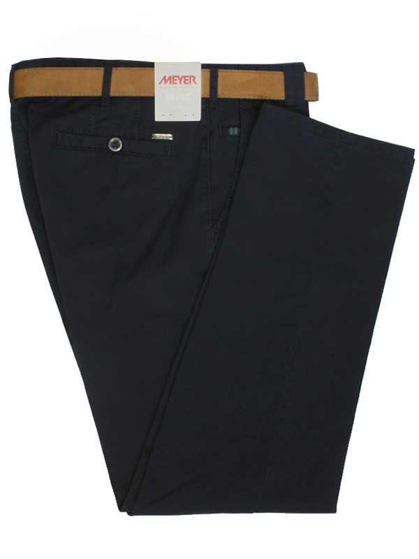 Meyer Soft Chino - Roma - Navy