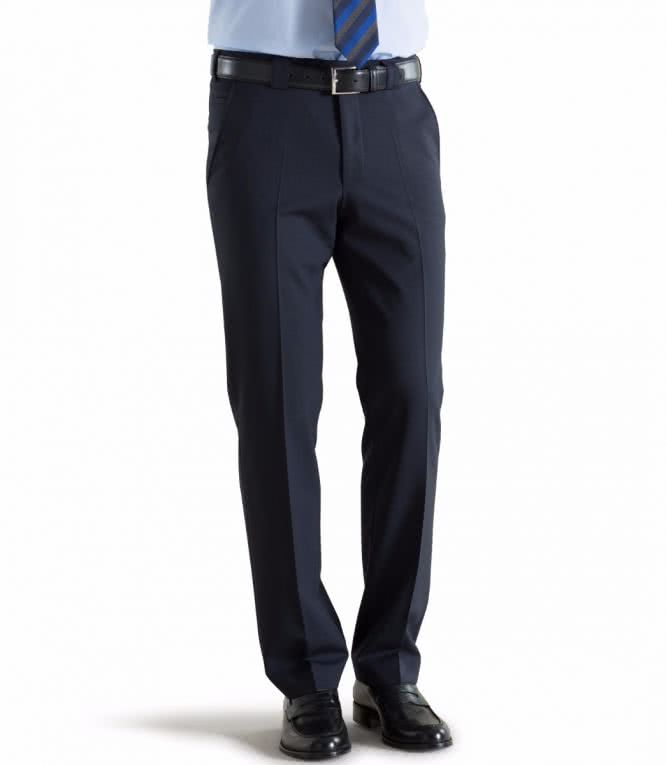 Meyer Fine Tropical Wool Chino - Roma -Navy
