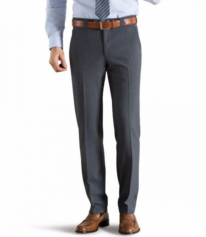 Meyer Fine Tropical Wool Chino -Roma - Grey