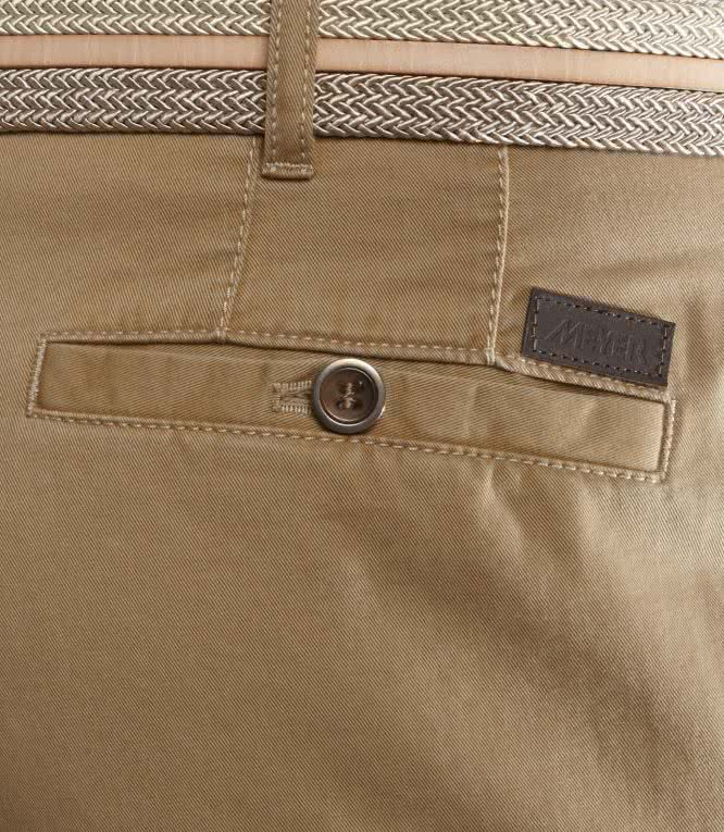 MEYER Soft Chino Roma - Camel