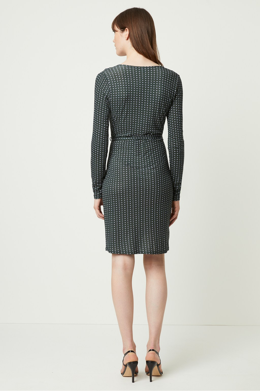 French Connection Cosimo Meadow Jersey Wrap Dress