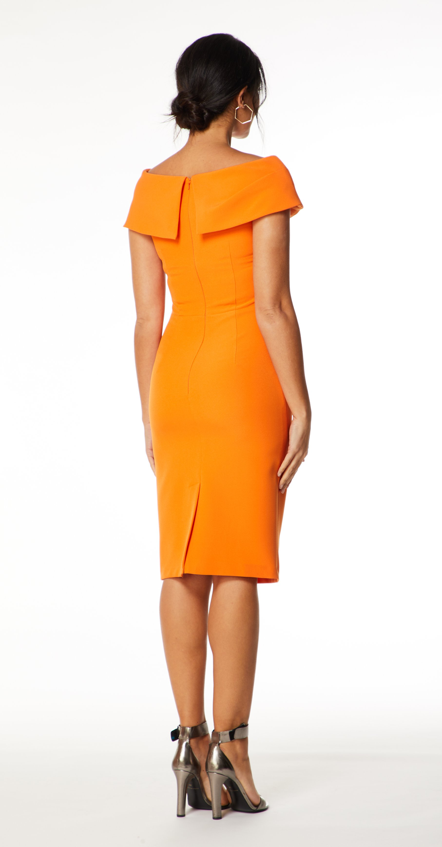 Mellaris Olympia Dress - Orange