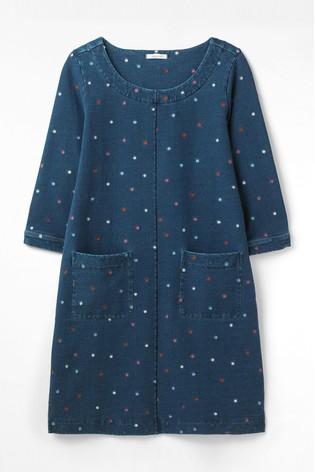 White Stuff Cross Stitch Dress