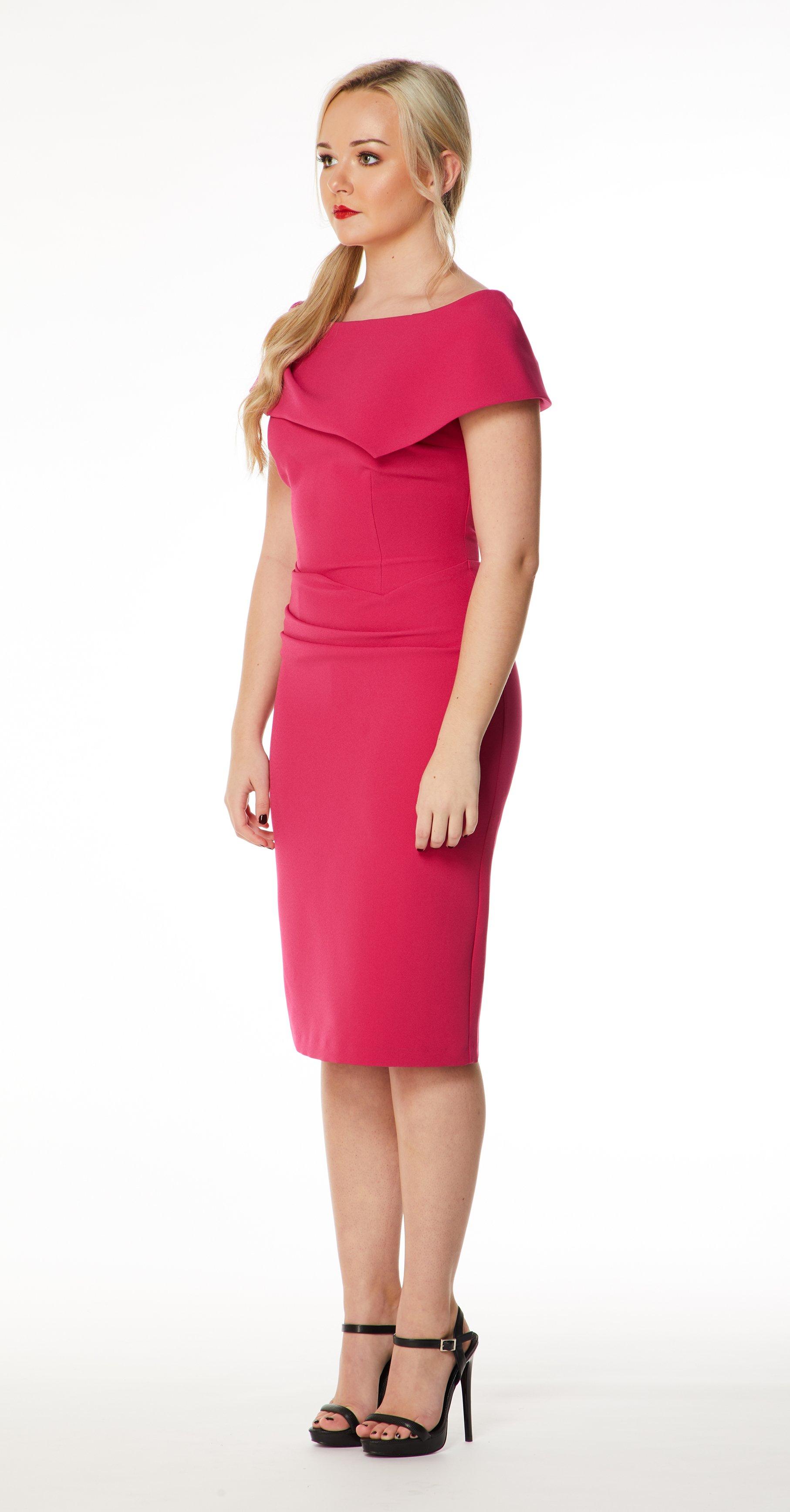 Mellaris   Olympia Dress - Pink