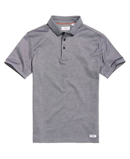 Superdry Edit Micro City Polo - Grey