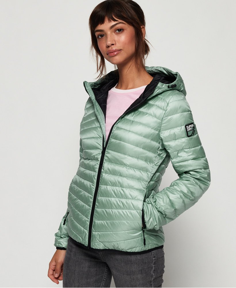 Superdry Hyper Core Down Jacket - Powder Turquoise