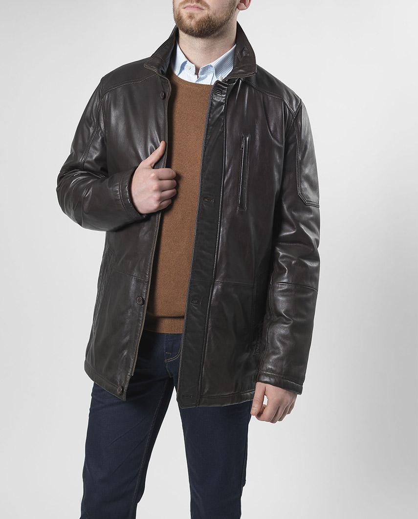 Wellington Westminster Leather Jacket - Brown