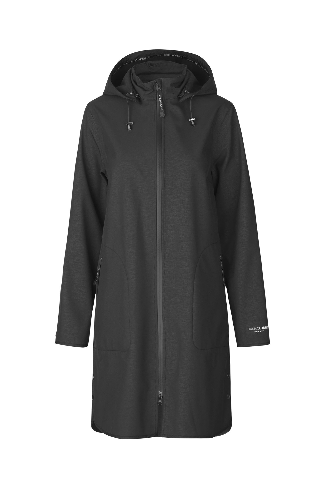 Ilse Jacobsen Rain coat 128  Black