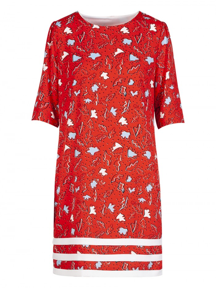 Anonyme Doriana Printed Tunic Dress