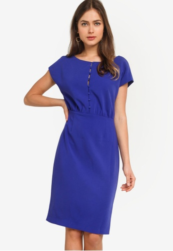 French Connection Whisper Short Sleeve Dress