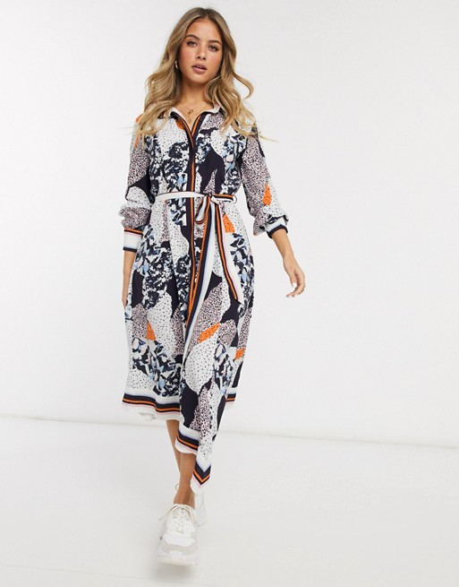French Connection Asha Shirt Dress