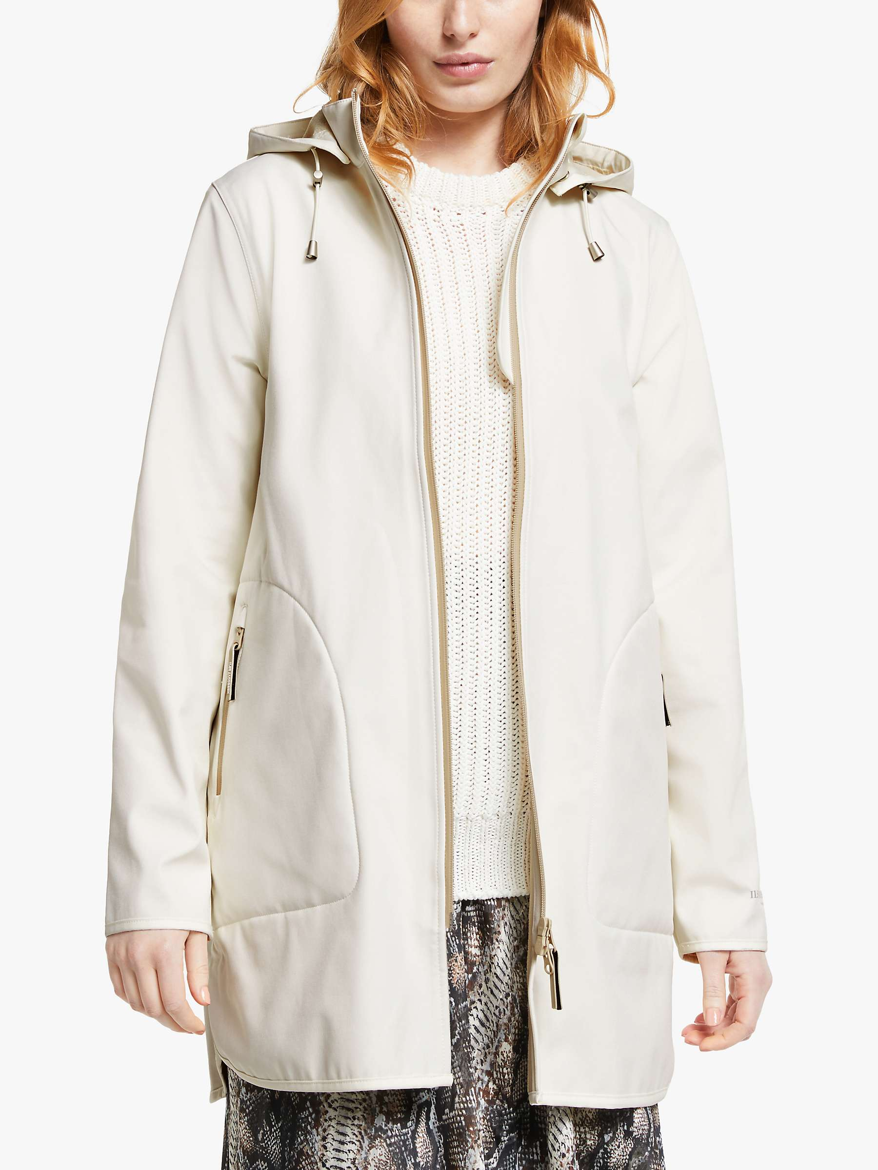llse Jacobsen Raincoat 135B White-Sugar