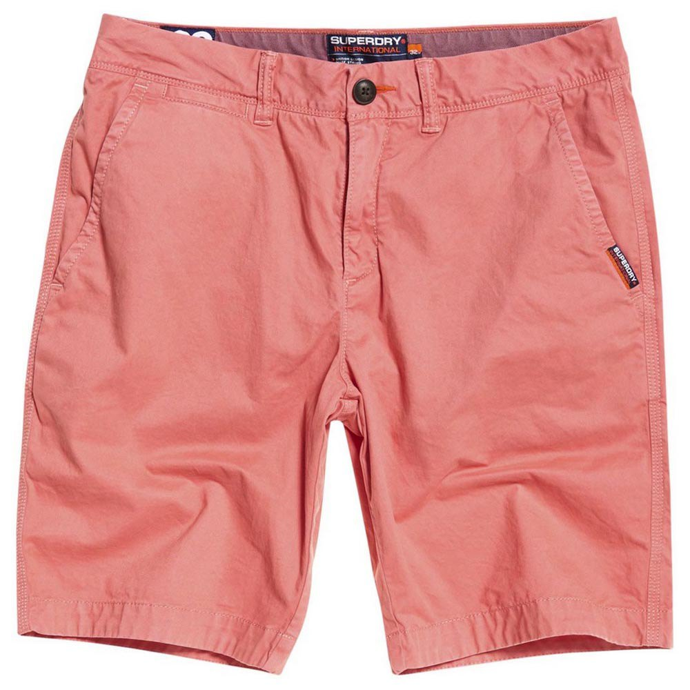 Superdry International Chino Shorts - Pommergranite