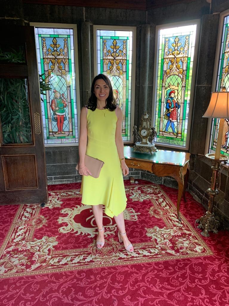 Mellaris - Adelle Dress - Yellow