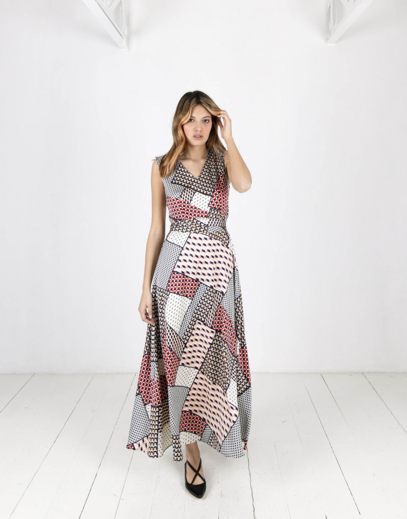 Daniela Foulard Dress
