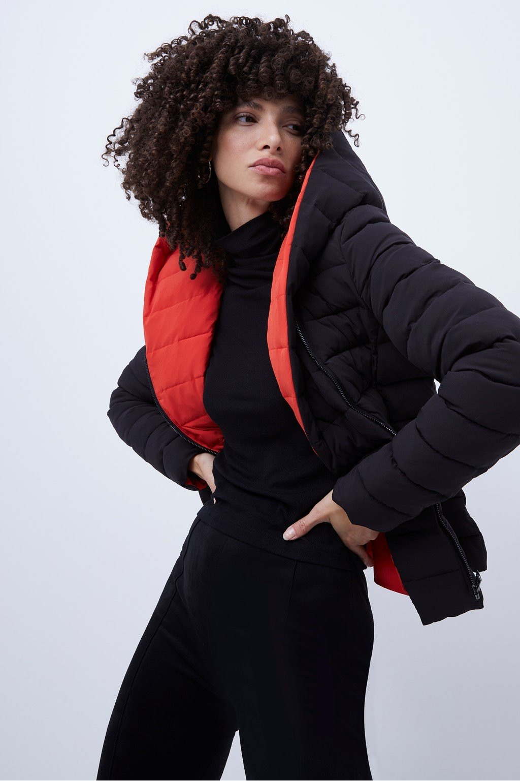 French Connection Iola Puffer Coat