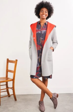 Bailey Reversible Wool Coat