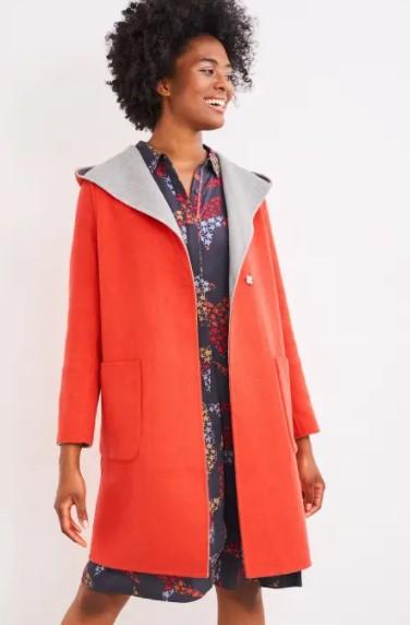 Bailey Reversible Wool Coat