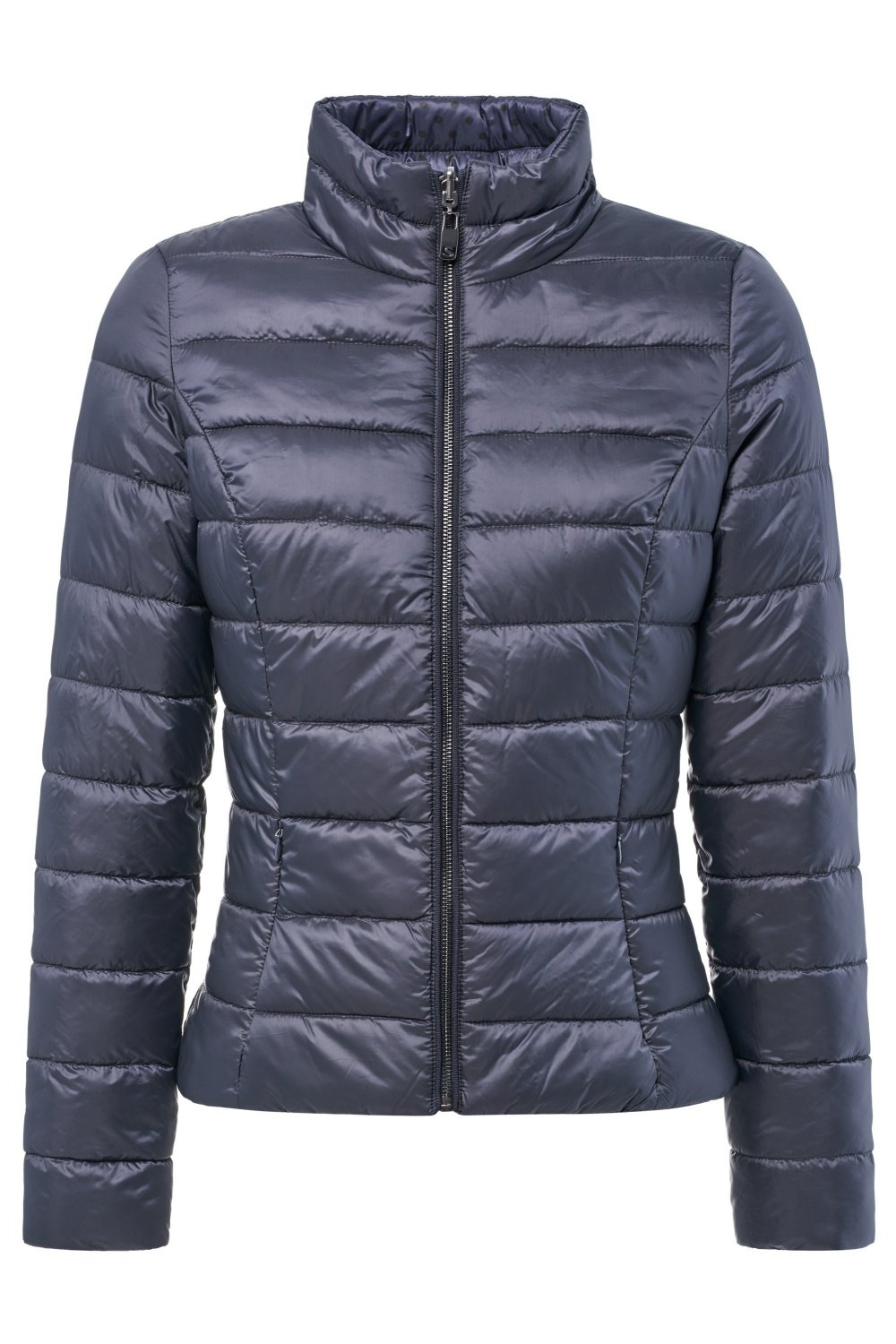 Reversible short puffer jacket