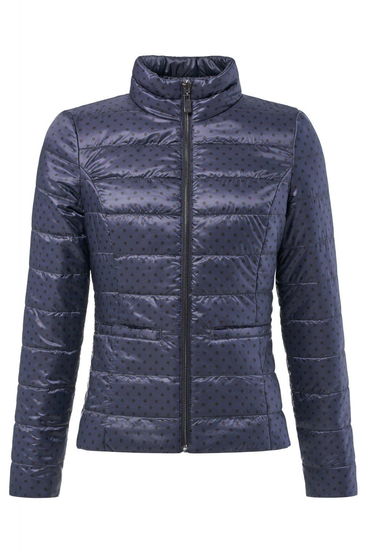 Reversible short puffer jacket