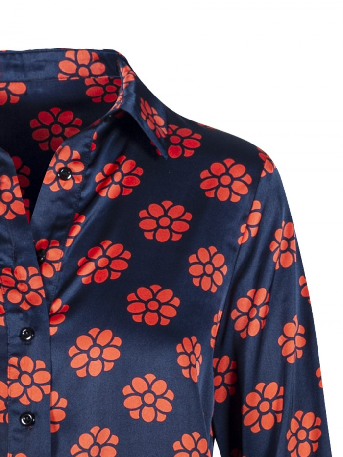 Anonyme Red Daisy Shirt