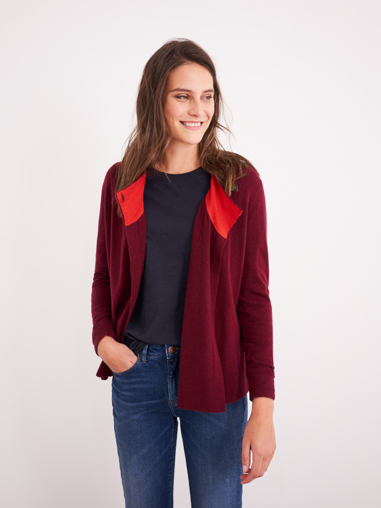 Lane Button Side Cardigan