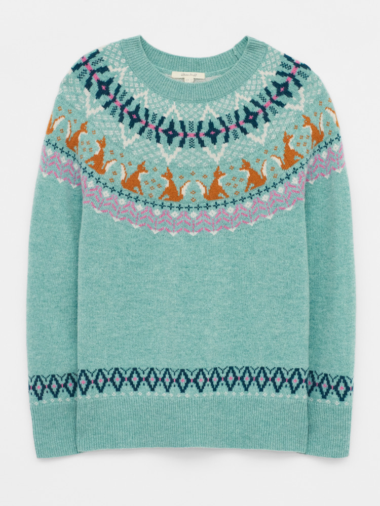 Festive Fox Jumper