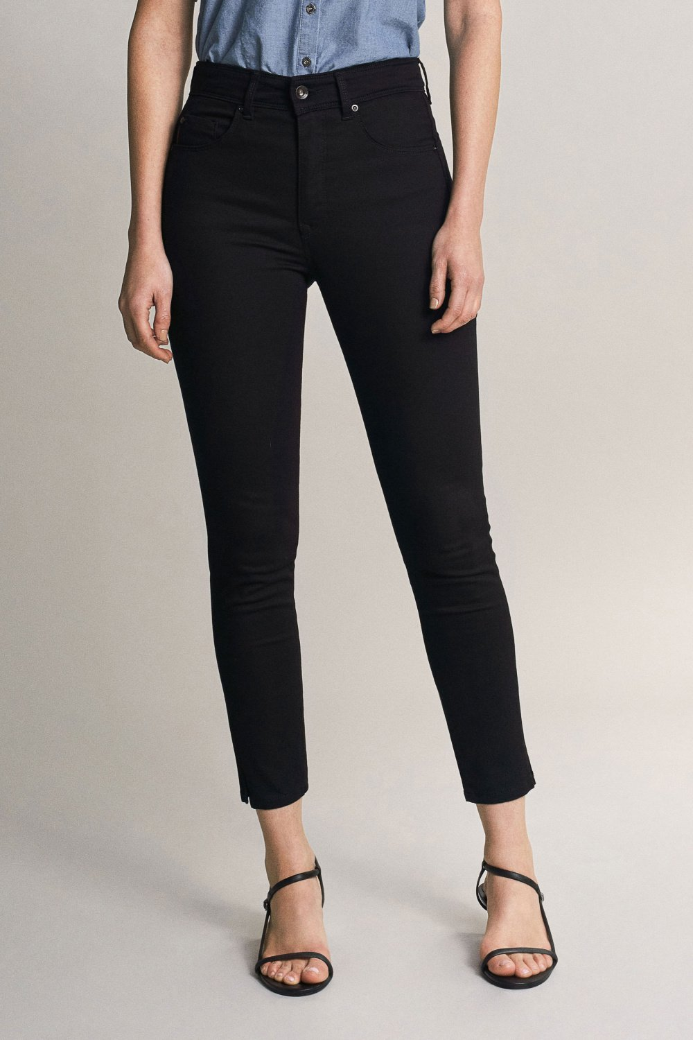 Salsa Secret Glamour Capri - Black
