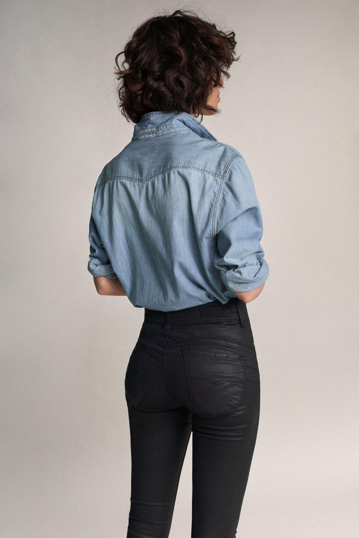 Salsa Secret Jeans in coating - Capri
