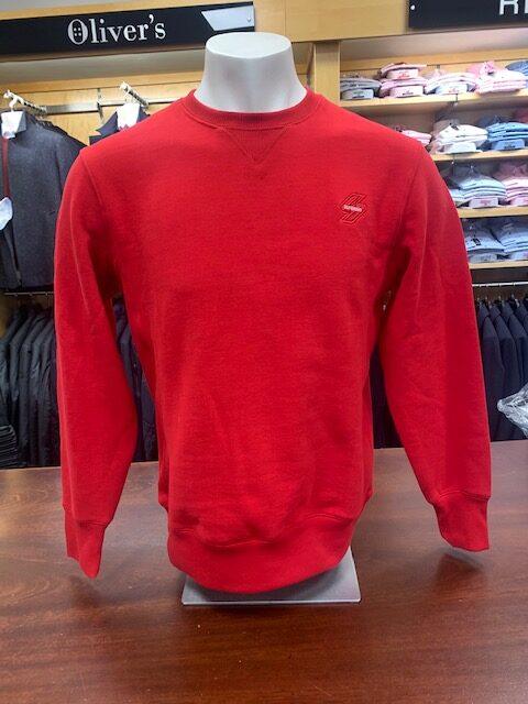 SD Crew Neck Jumper - Red