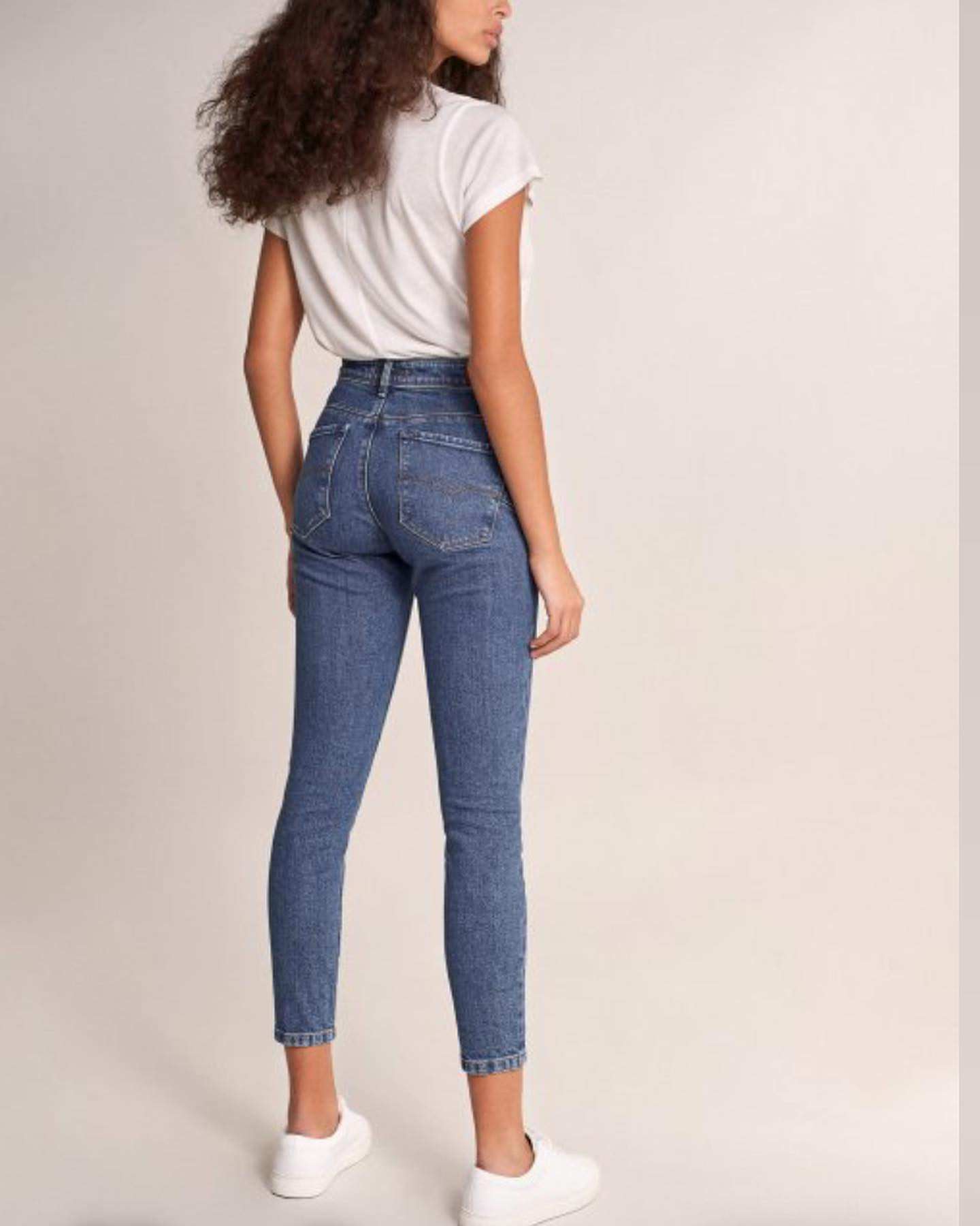 Salsa Secret Glamour Capri - Blue Denim
