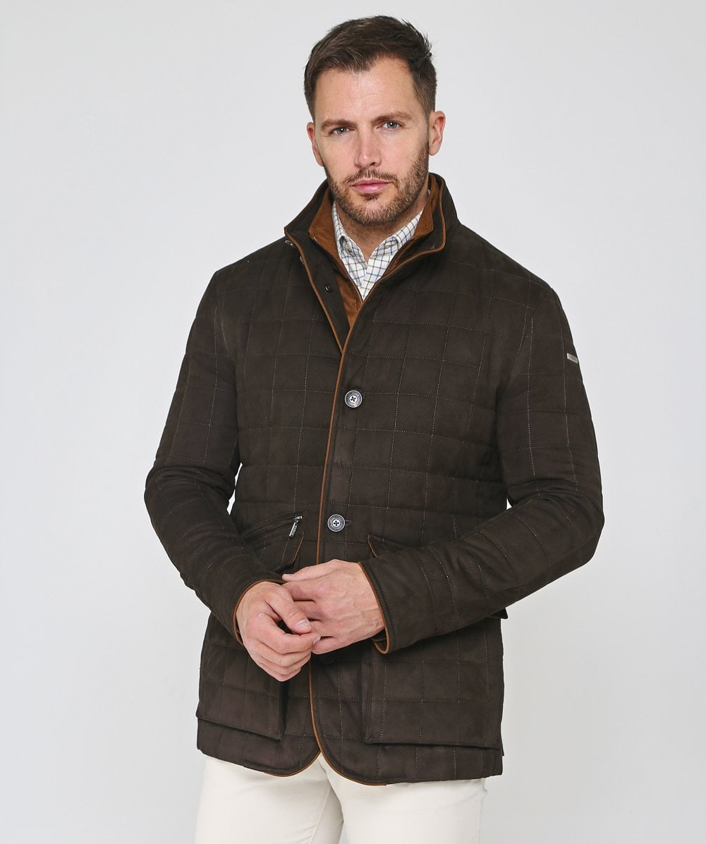 Magee Brown | Quilted Glenveigh Jacket |
