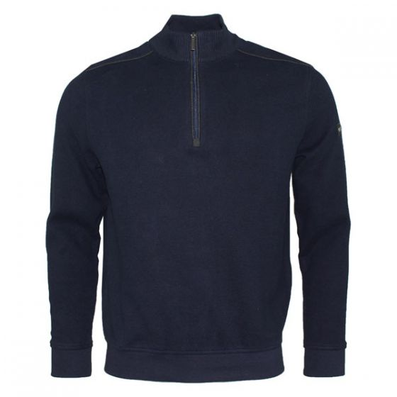 Bugatti | Sweat-Shirt Troyer | Navy | 65050/390