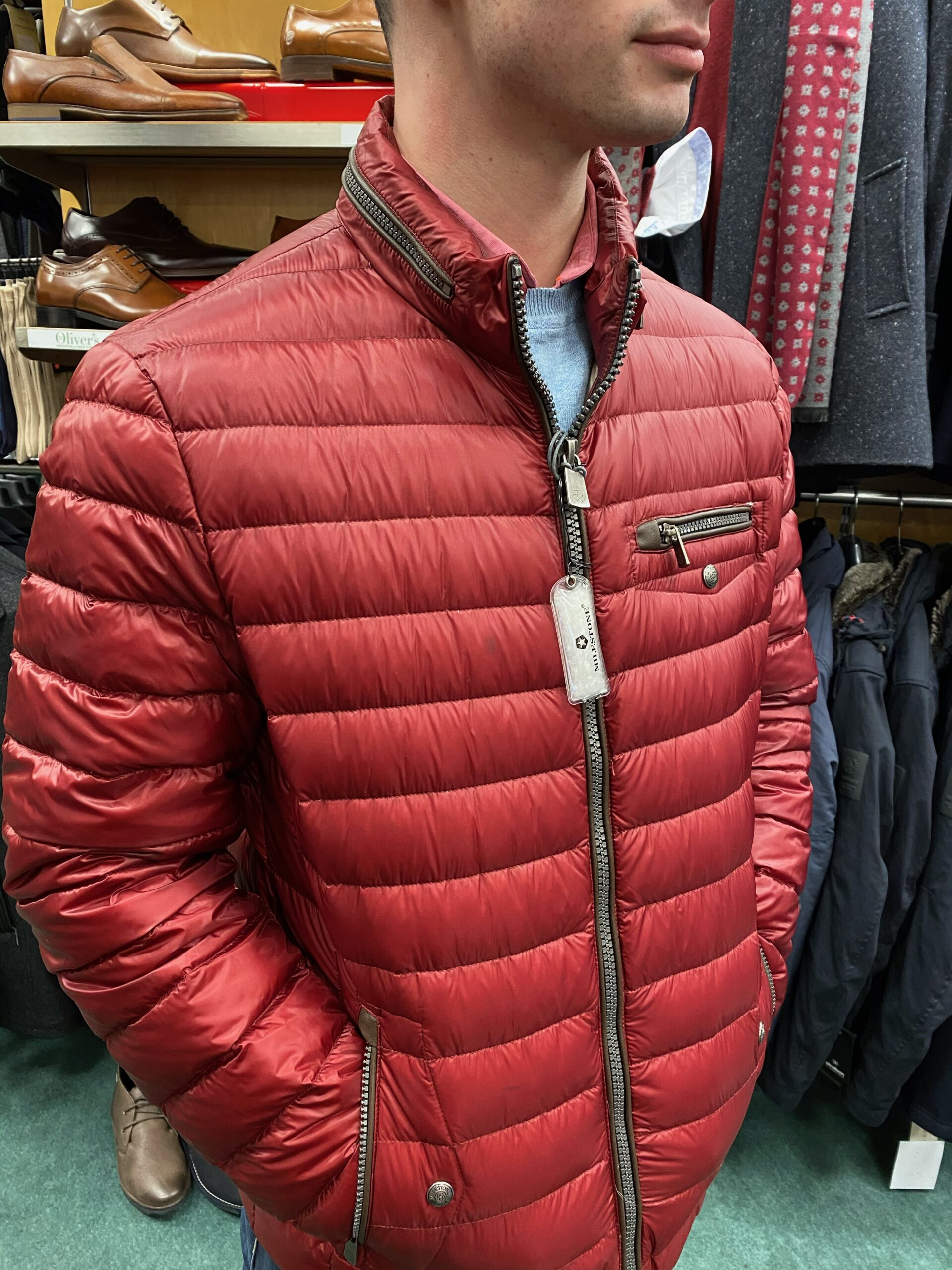 Milestone Torrone Down Jacket - Red