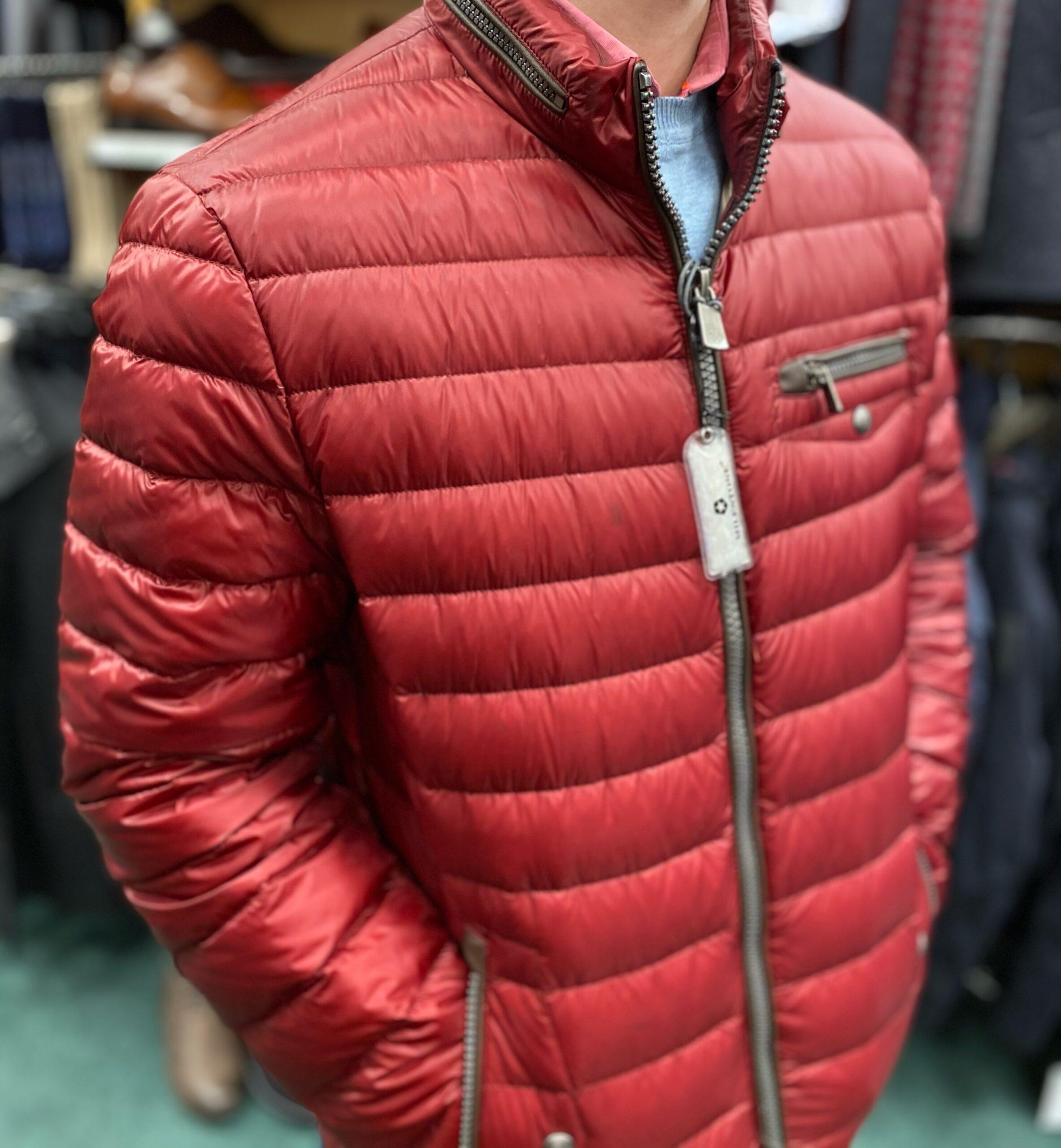 Milestone Torrone Down Jacket - Red