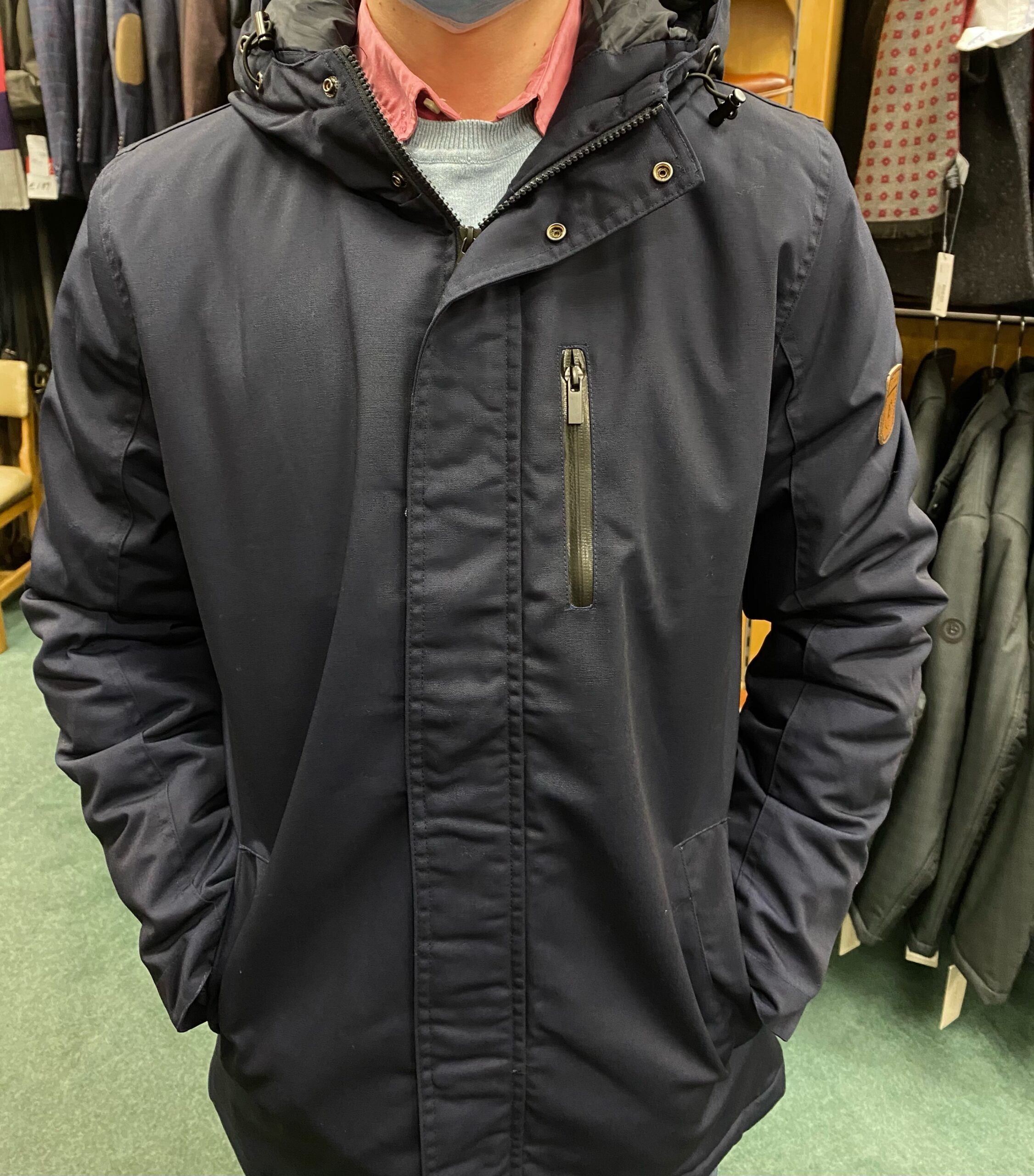 Pre End Clemens Jacket | Navy