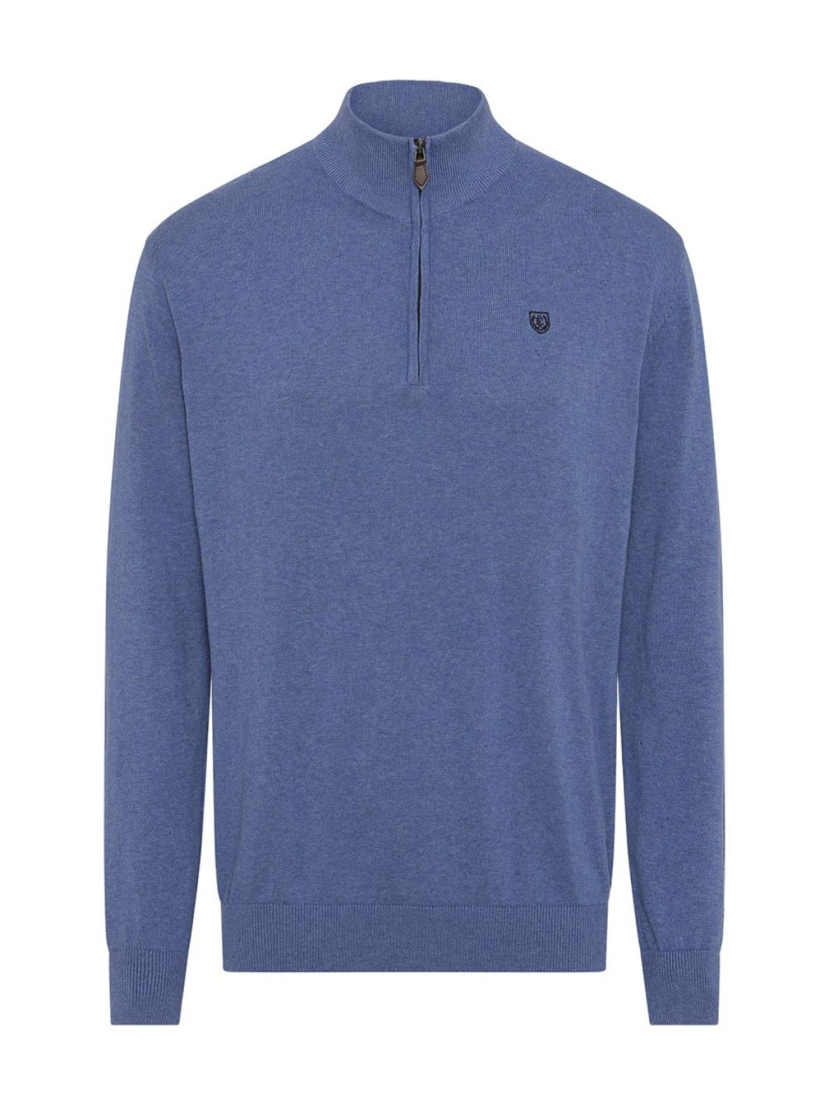 Pre End | Hampton Half-Zip Knit | Blue
