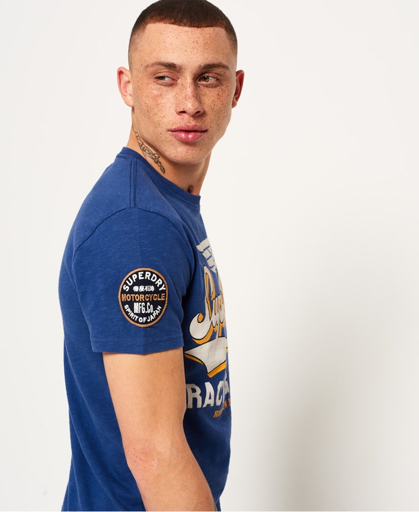 Superdry | Famous Flyers T-Shirt in Frontier Blue