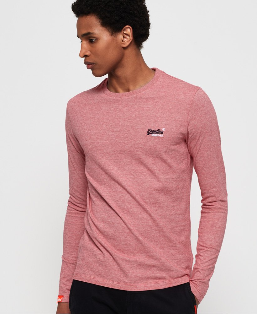 SUPERDRY | Vintage Embroidered Long Sleeve Top