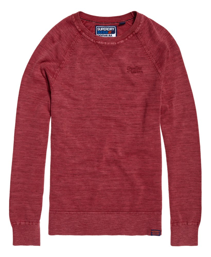 SUPERDRY | Garment Dyed L.A Crew Jumper