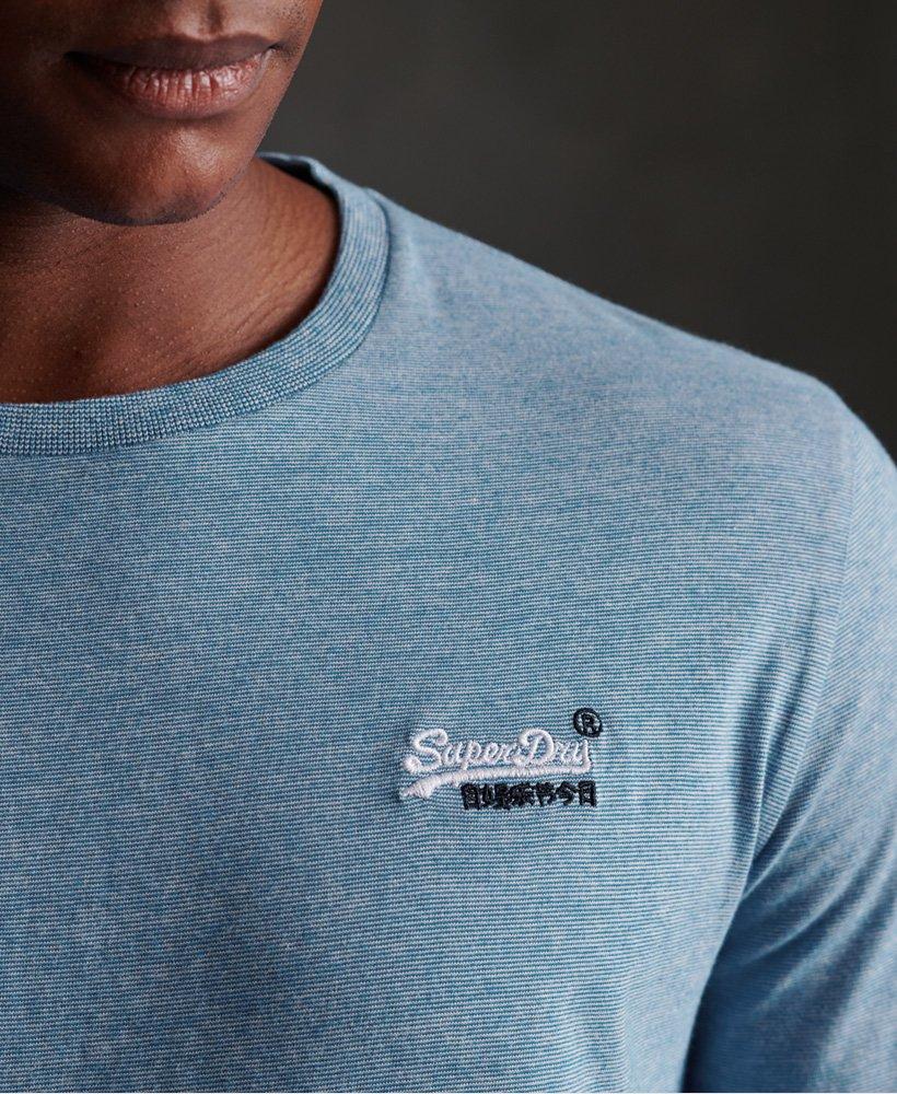 SUPERDRY | Vintage Embroidered Long Sleeve Top | Blue